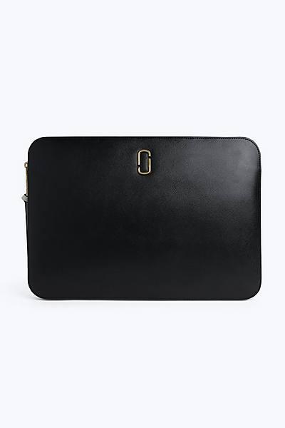 마크 제이콥스 스냅샷 15인치 랩탑 슬리브 - 블랙 (맥북 전용 케이스, 파우치) Marc Jacobs Snapshot 15 Laptop Sleeve, BLACK MULTI