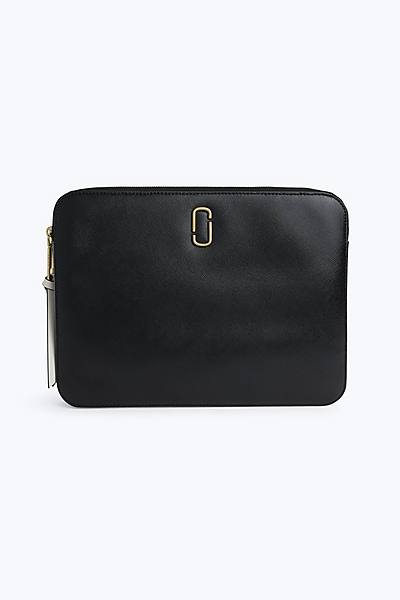 마크 제이콥스 스냅샷 13인치 랩탑 슬리브 - 블랙 (아이패드, 맥북 전용 케이스, 파우치) Marc Jacobs Snapshot 13 Laptop Sleeve, BLACK MULTI