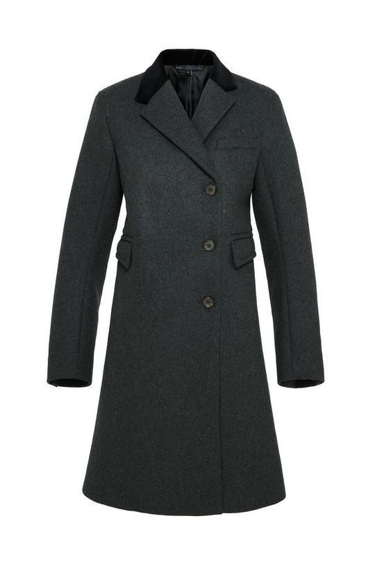 Norman Bonded Wool Crombie Coat