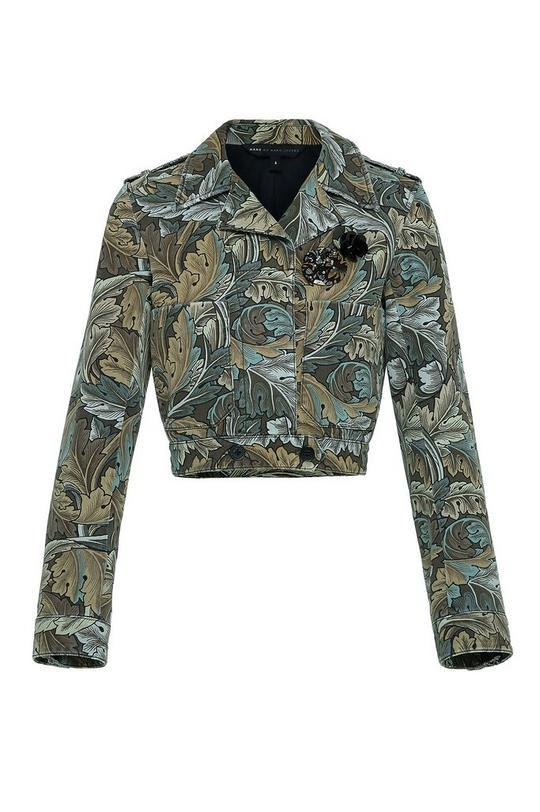Acanthus Army Cotton Mini Military Jacket