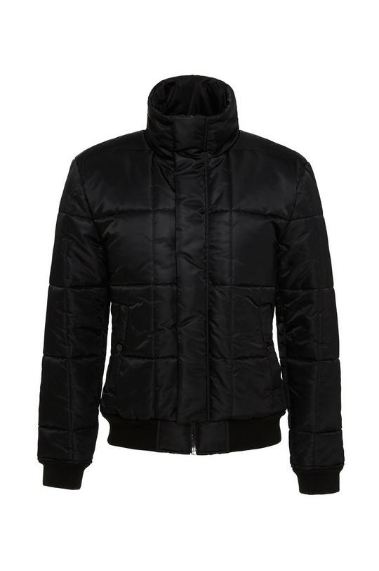 Zip Up Poly Fill Jacket