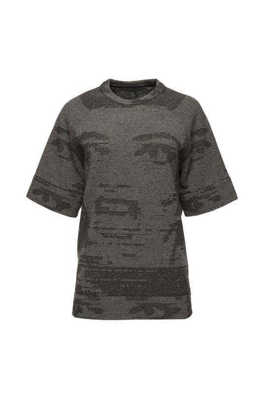 Printed Jacquard Sweater