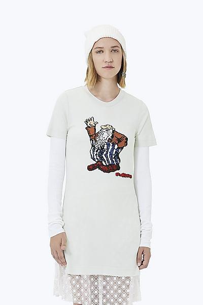 마크 제이콥스 긴팔 티셔츠 Marc Jacobs R. Crumb Beaded Long Tee,MINT