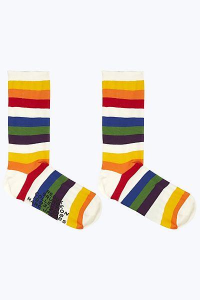 마크 바이 마크 제이콥스 리덕스 그런지 컬렉션 양말 Marc By Marc Jacobs Rainbow Sock,RAINBOW MULTI