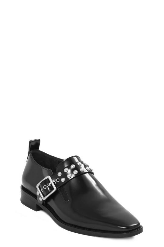 Frankie Studded Strap Loafer