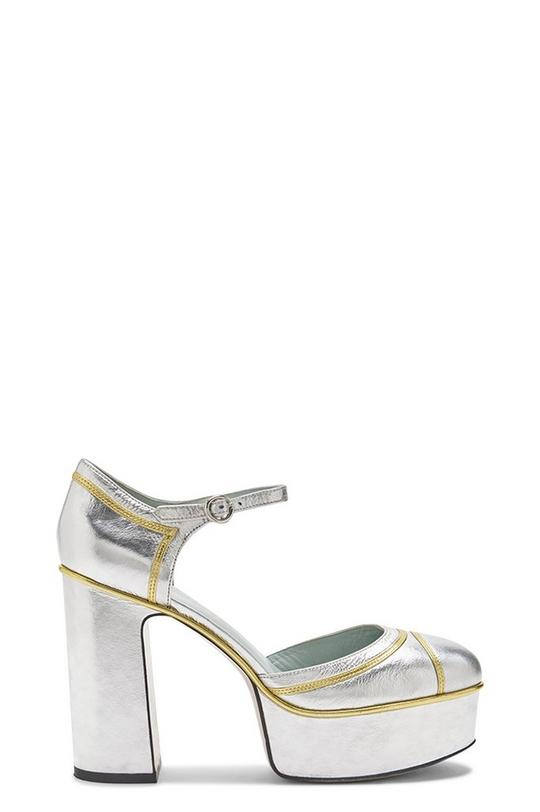 Edie Mary Jane Platform Pump