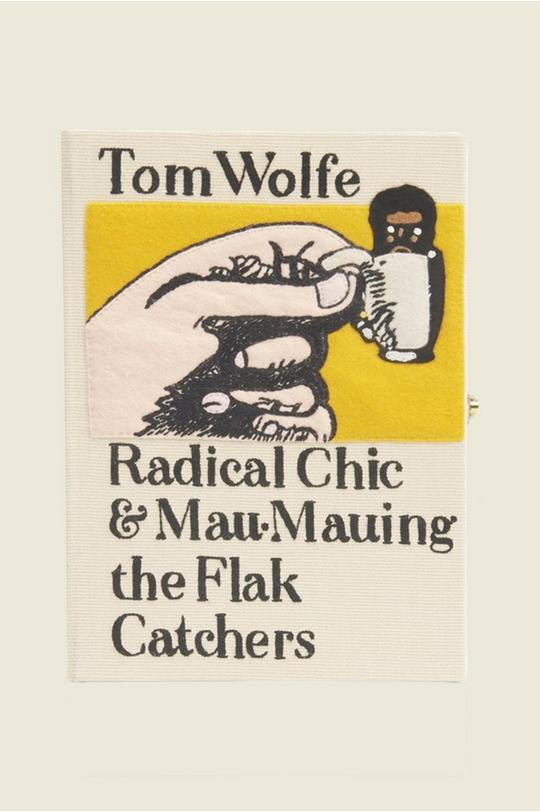 Radical Chic Book Clutch by Olympia Le-Tan