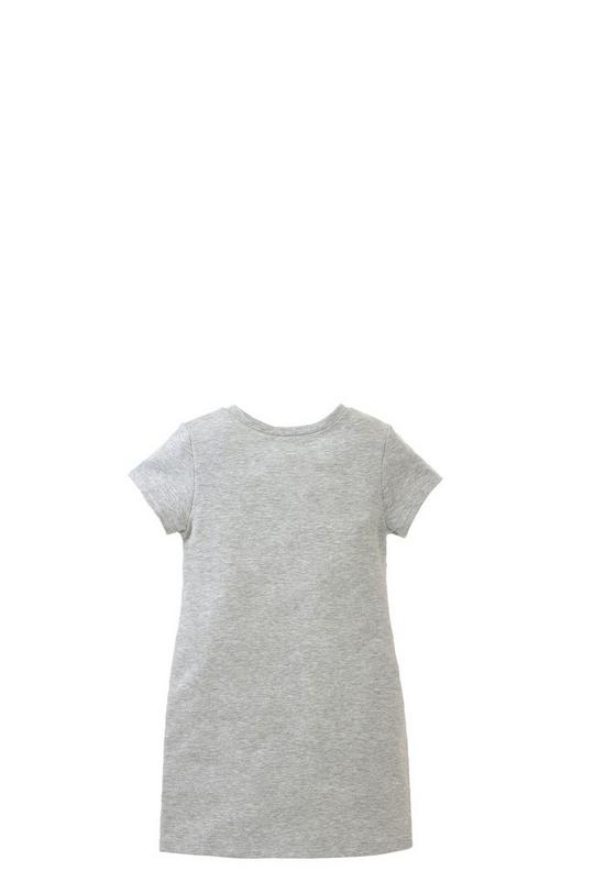 Graphic Fleece Dress