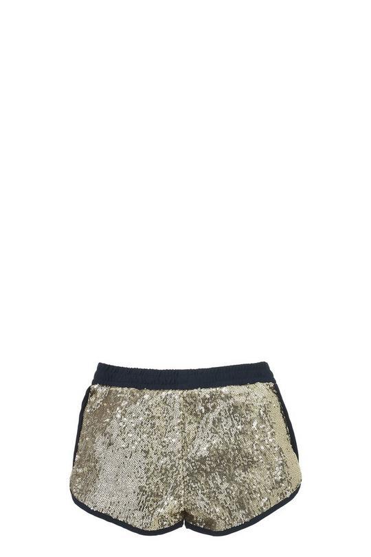 Sequin Crêpe Shorts