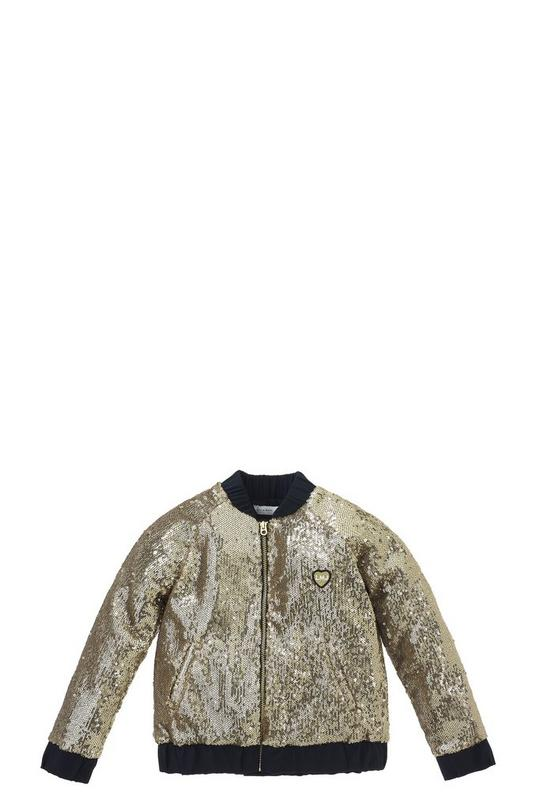 Sequin Teddy Jacket