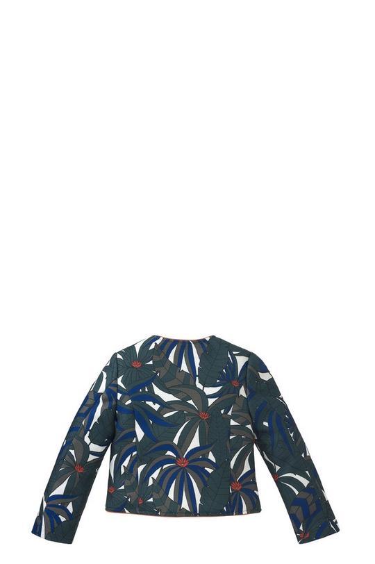 Printed Canvas Jacket