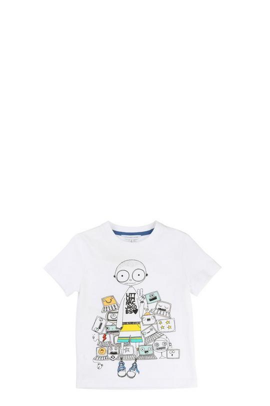 Graphic Print Tee Shirt