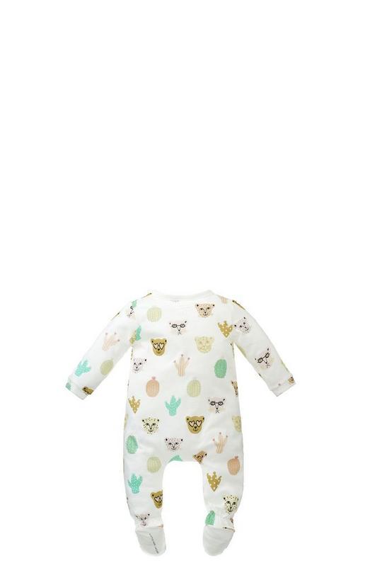 Allover Printed Pajamas