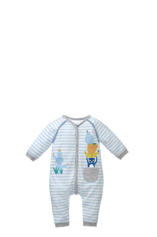Snap Front Printed Pajamas