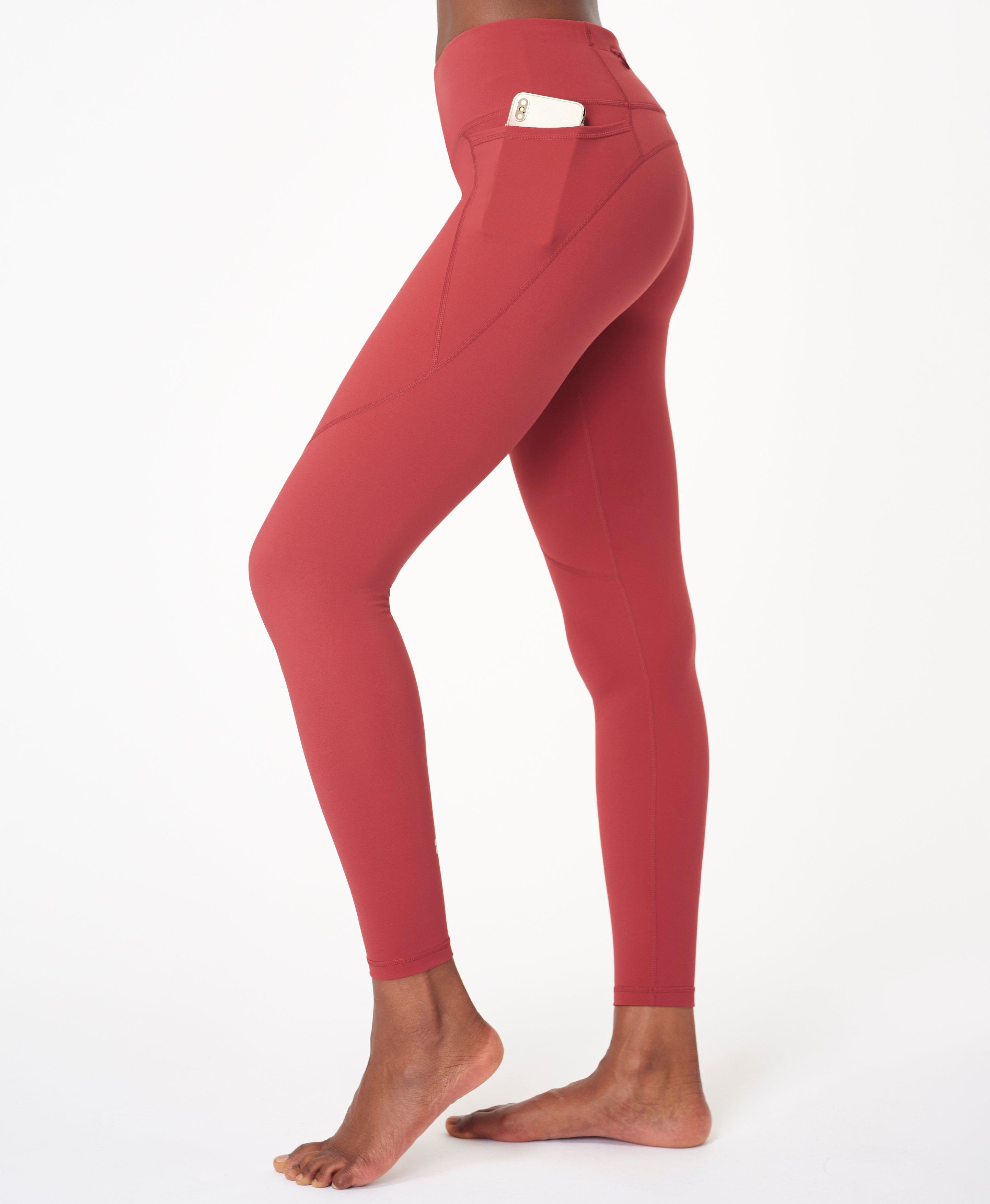 In our full length, our bestselling Power Leggings are engineered to sculpt, stretch and support. Made to perform for every single sport with a side pocket and back zip pocket, high adjustable waistband and compression. Even better, they\\\'re bum-sculpting too.