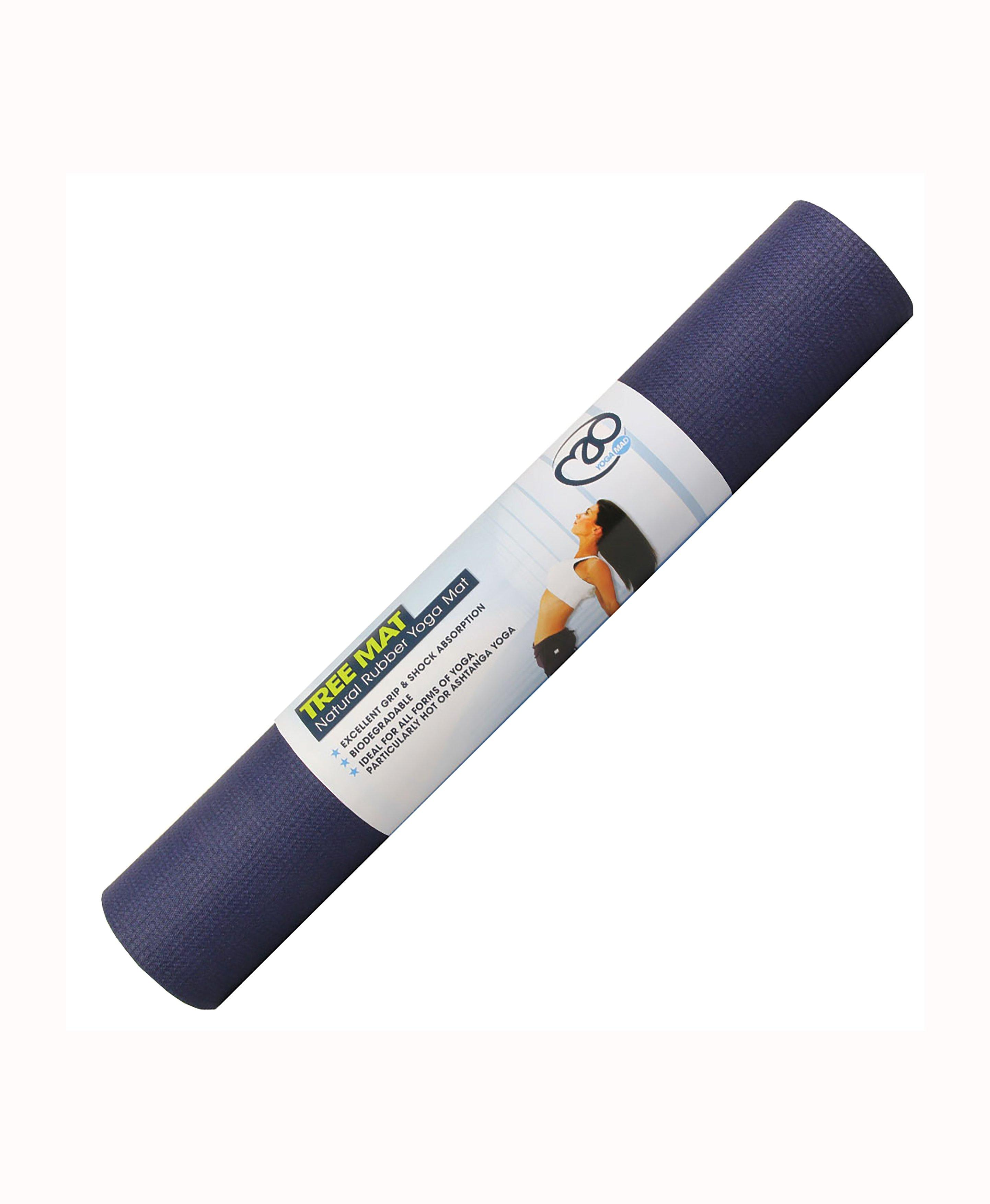 Made from natural biodegradable materials this eco-friendly yoga mat has unbeatable grip for all of your home workouts.