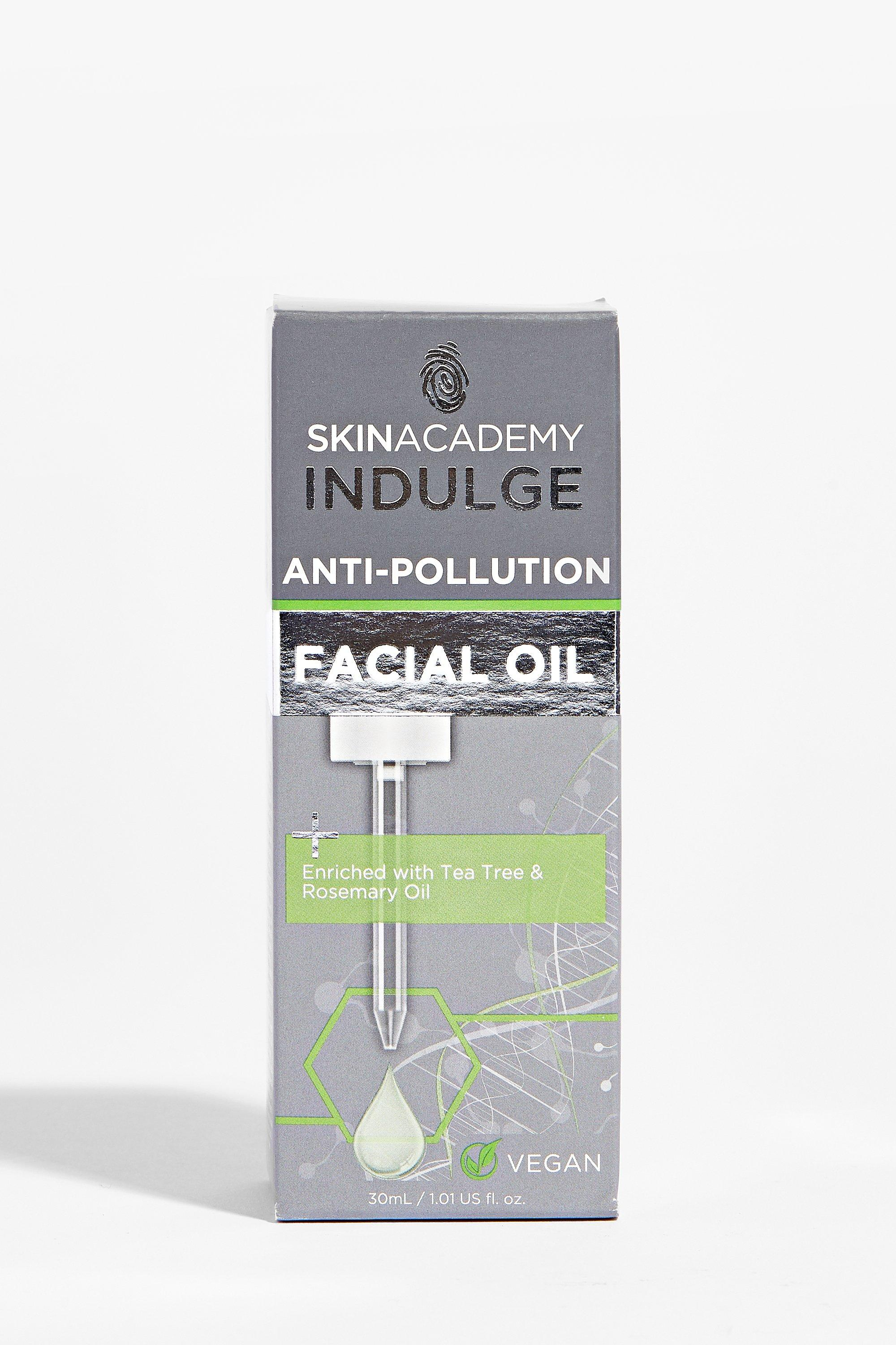 Womens In Your Face Anti-Pollution Facial Oil - Green - ONE SIZE, Green