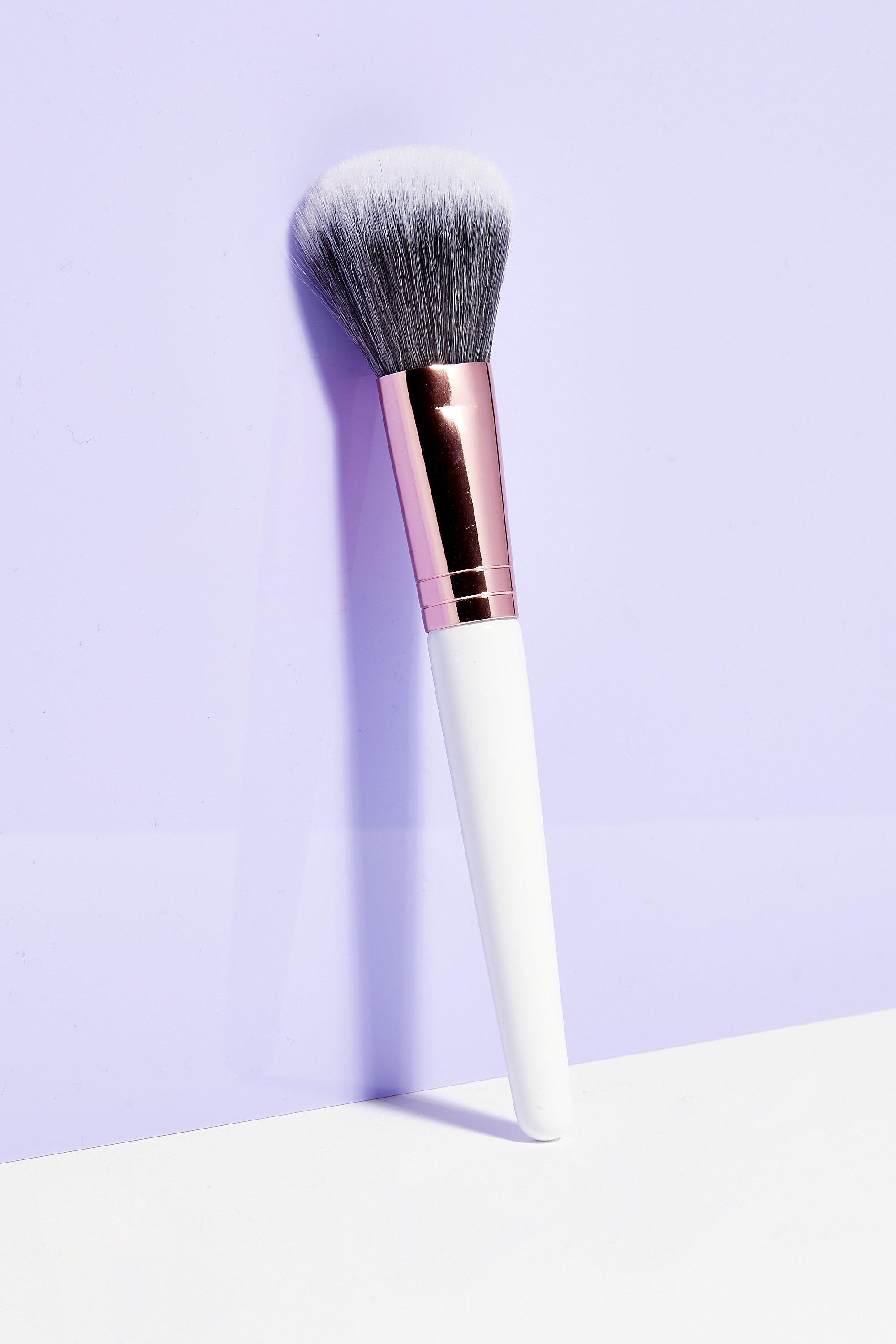 Womens Brushworks Better Brush Up Powder Brush - White - ONE SIZE, White