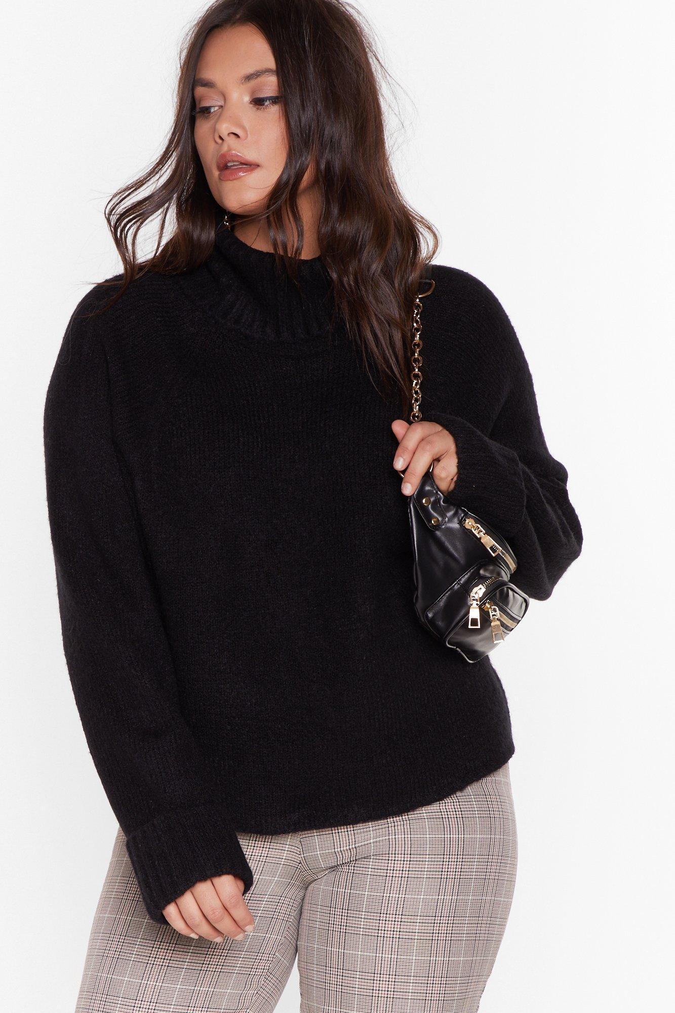 Image of Love Has Taken It's Roll Plus Turtleneck Sweater