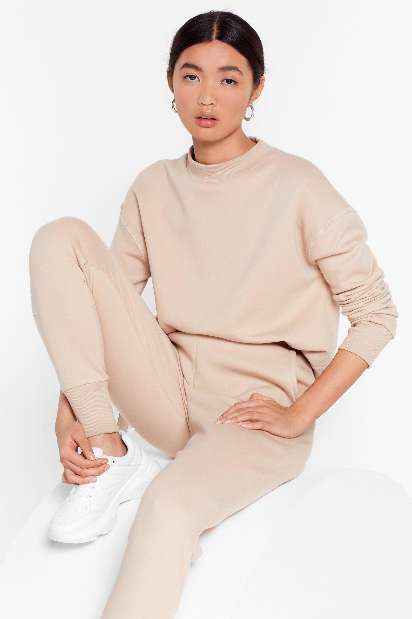Image of Take a Breath Sweater and Joggers Set