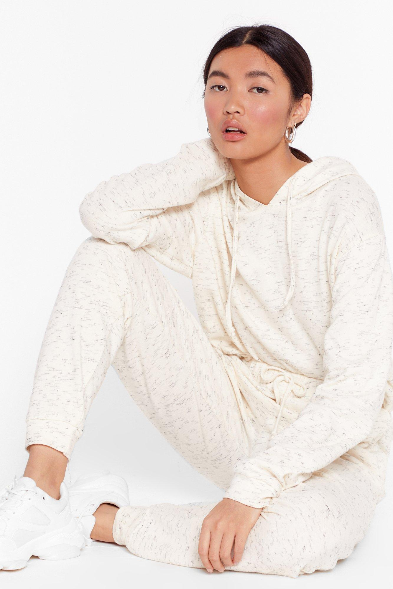 Image of Running Late Hoodie and Joggers Set