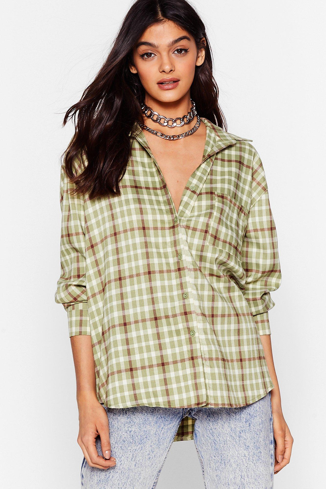 Image of Check Up On 'Em Relaxed Shirt