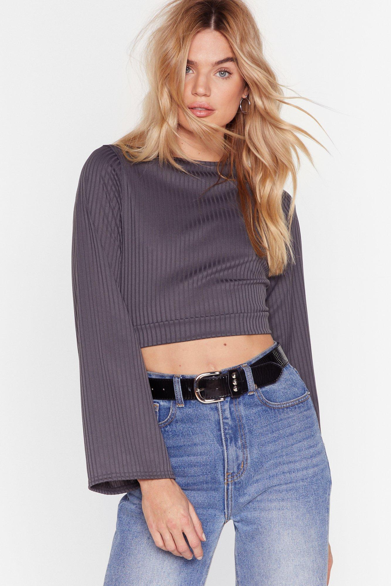 Image of Do Rib All Over Again Cropped Top