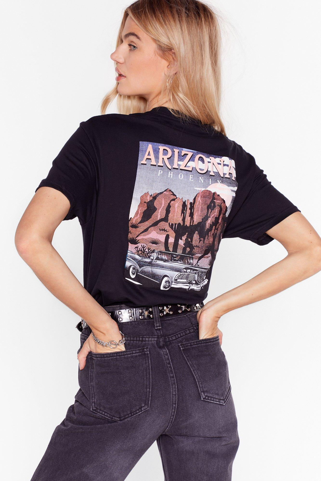 Image of I'd Never Desert You Arizona Graphic Tee
