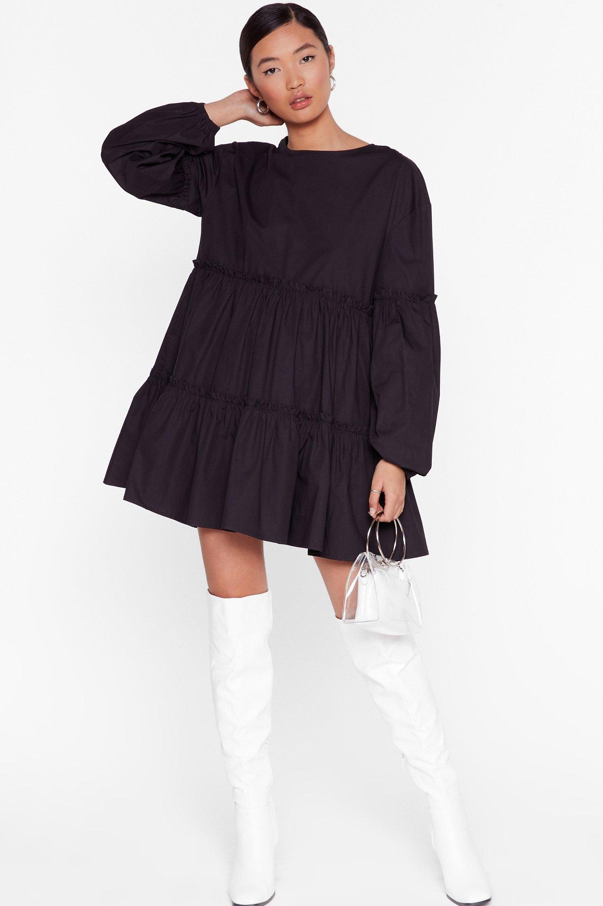 Image of State of Smock Relaxed Mini Dress