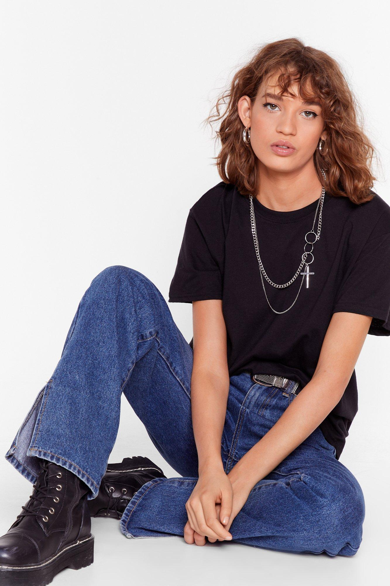 Image of Face the Facts Basic Relaxed Tee