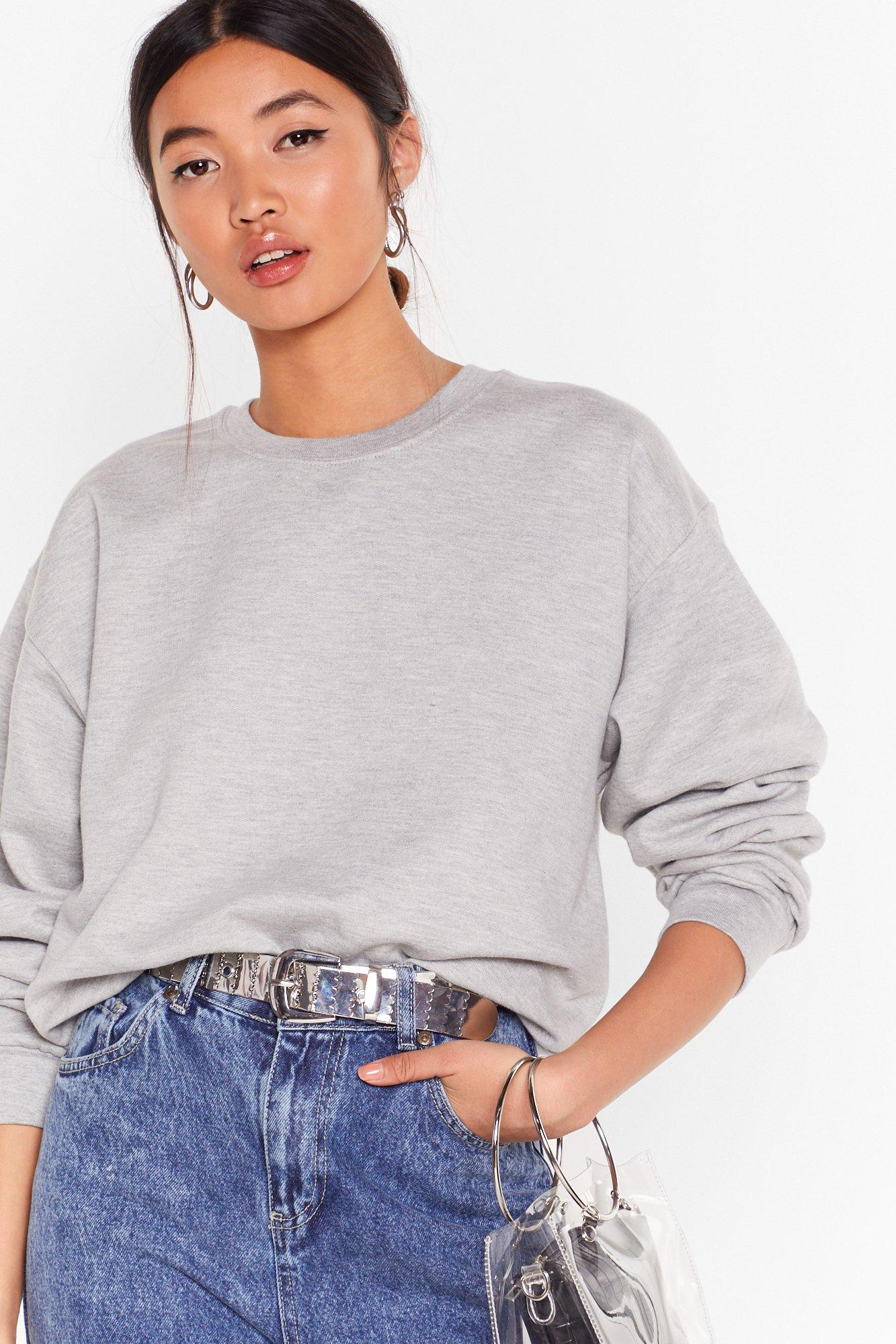 Image of Workin' Up a Sweat Relaxed Sweatshirt