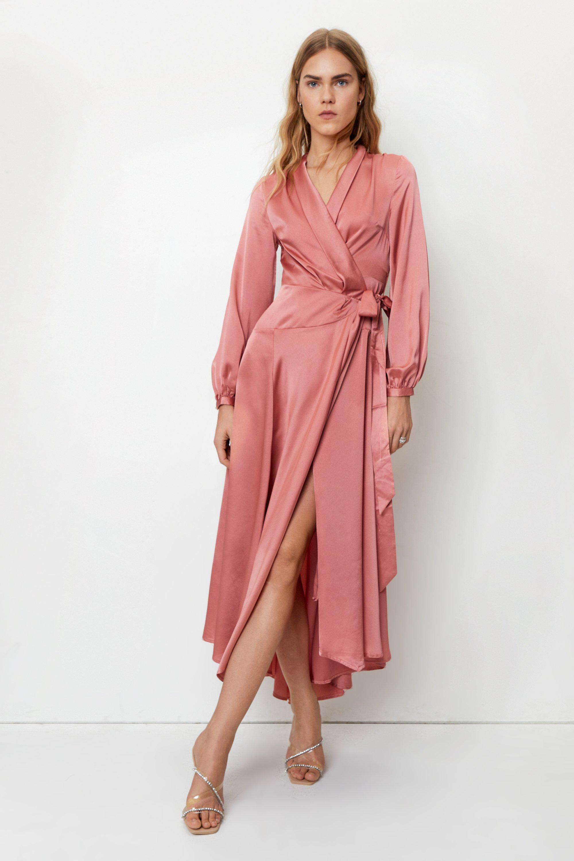 Image of Steal the Spotlight Satin Dress