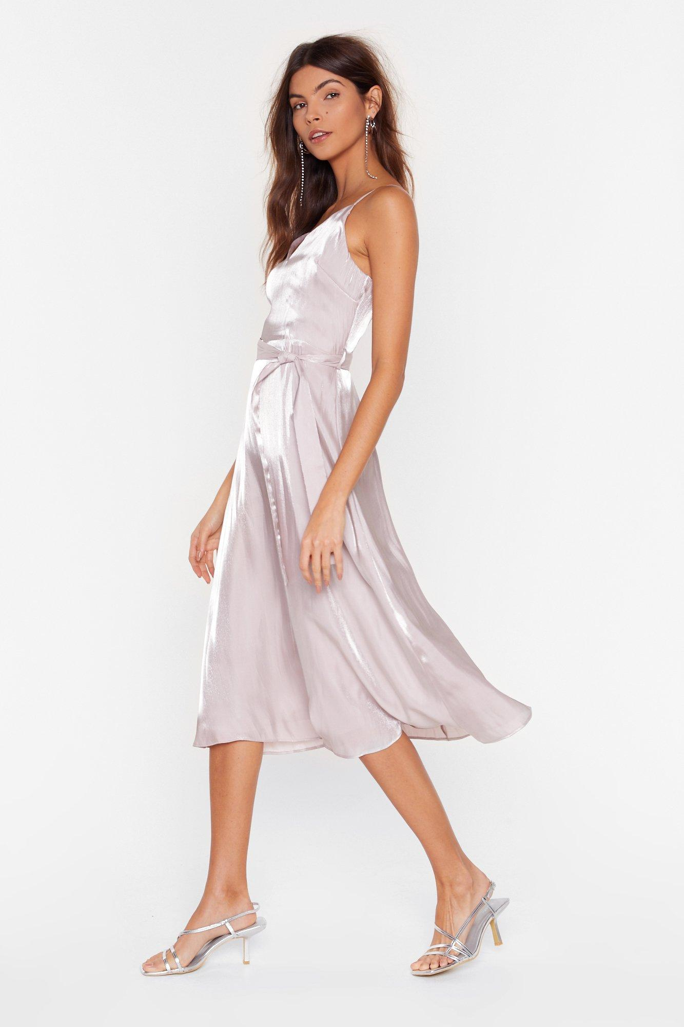 Image of Outshine the Competition Belted Midi Dress