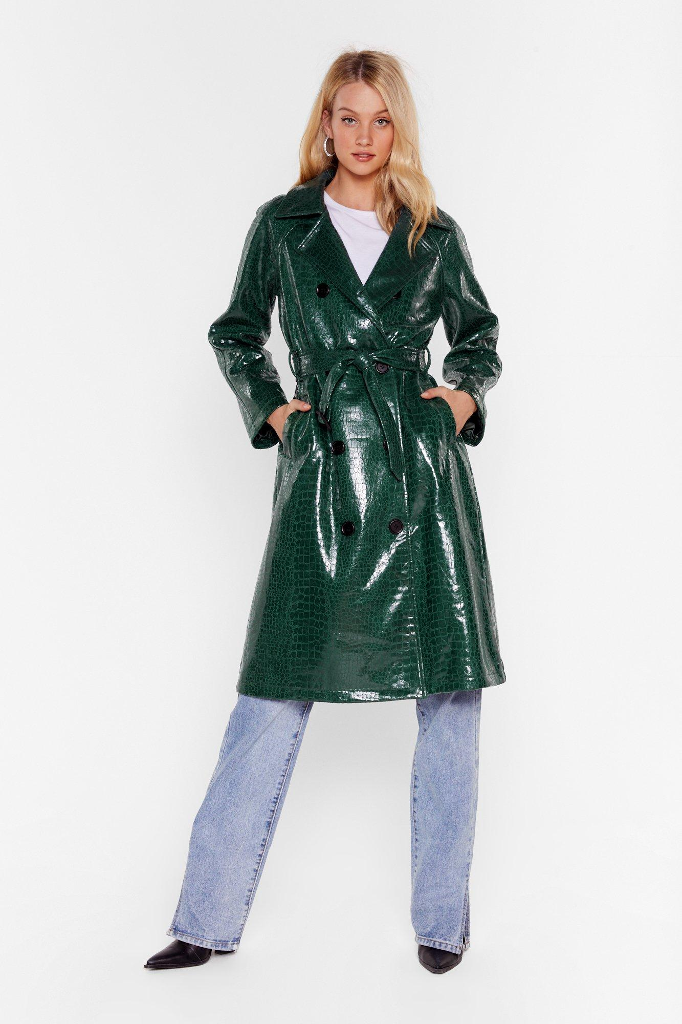 Image of Croc My World Belted Trench Coat