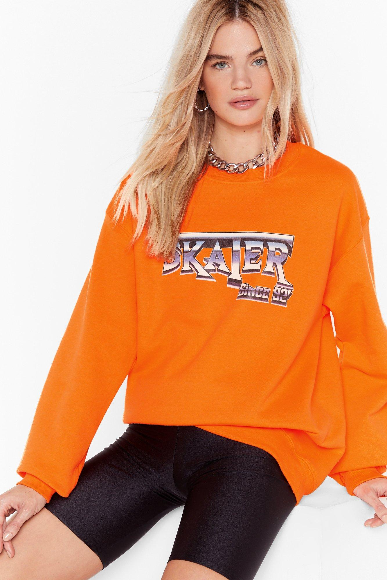Image of CYA Later Boy Oversized Graphic Sweatshirt