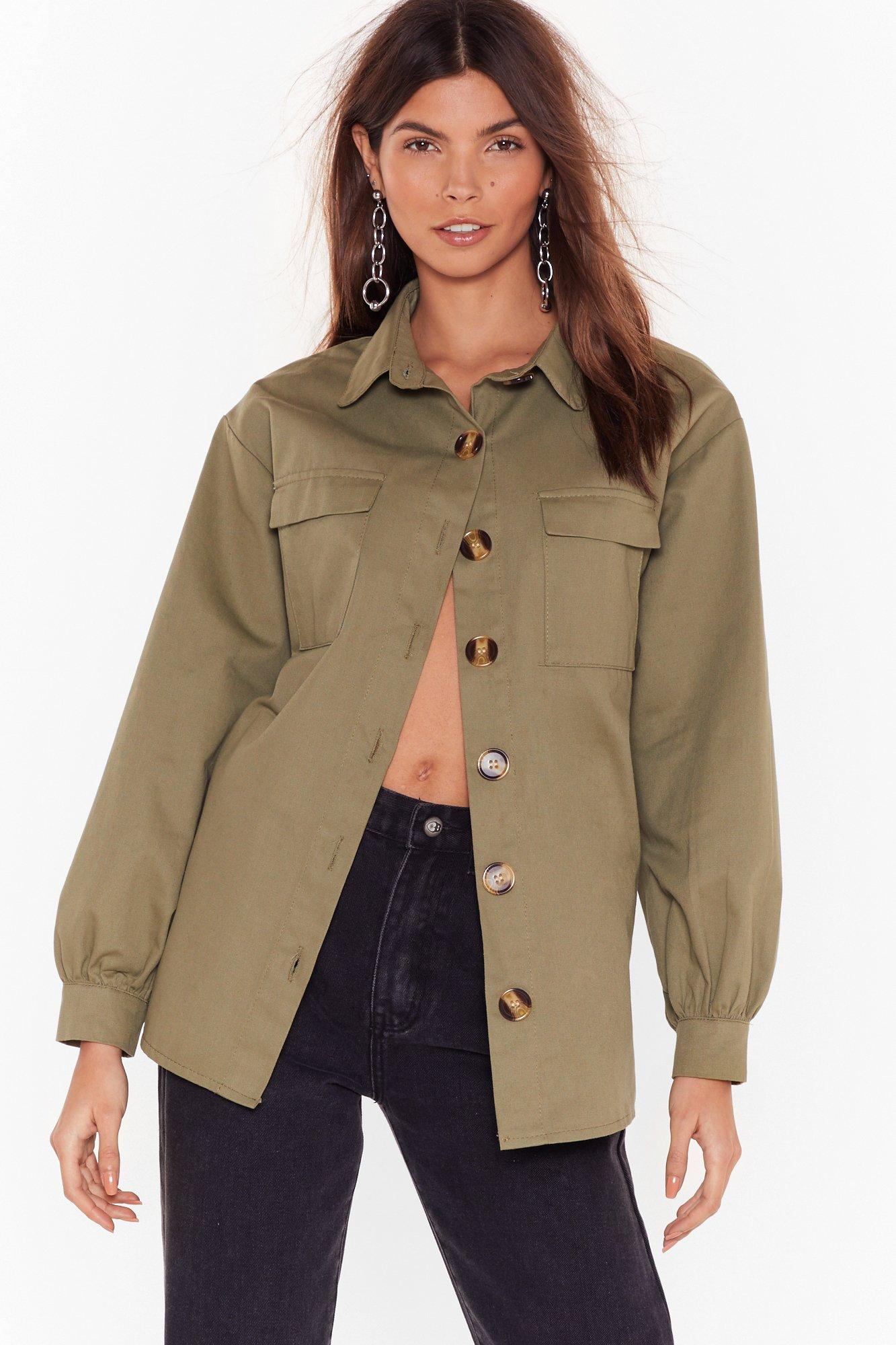 Image of If I Had a Collar Relaxed Utility Shirt
