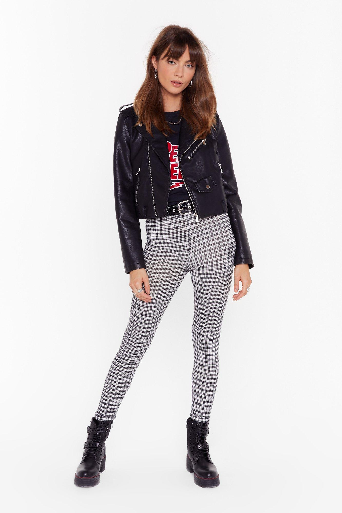 Image of What I Grid For Love High-Waisted Leggings