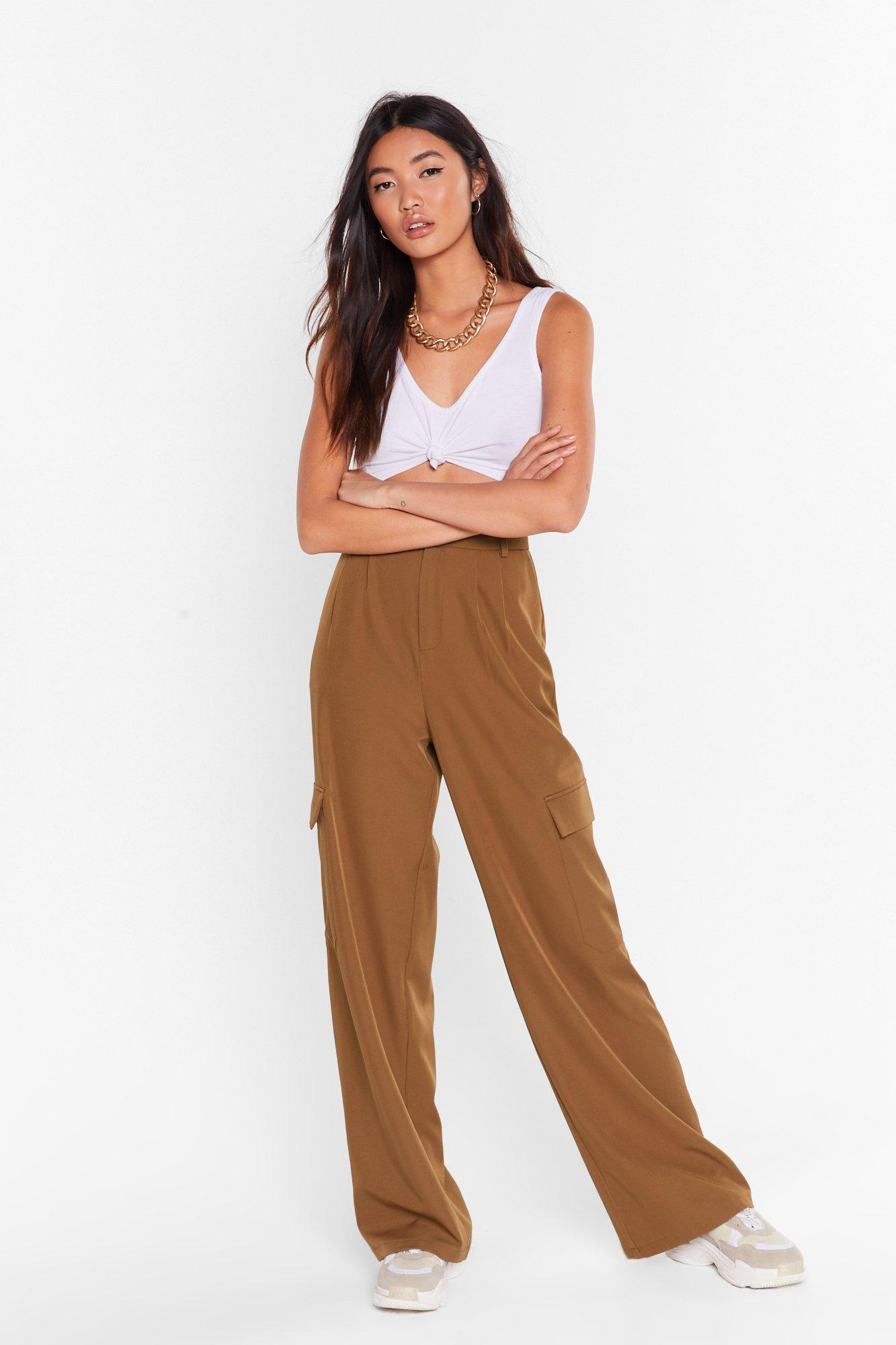 Image of Can't Pocket Enough Wide-Leg Pants