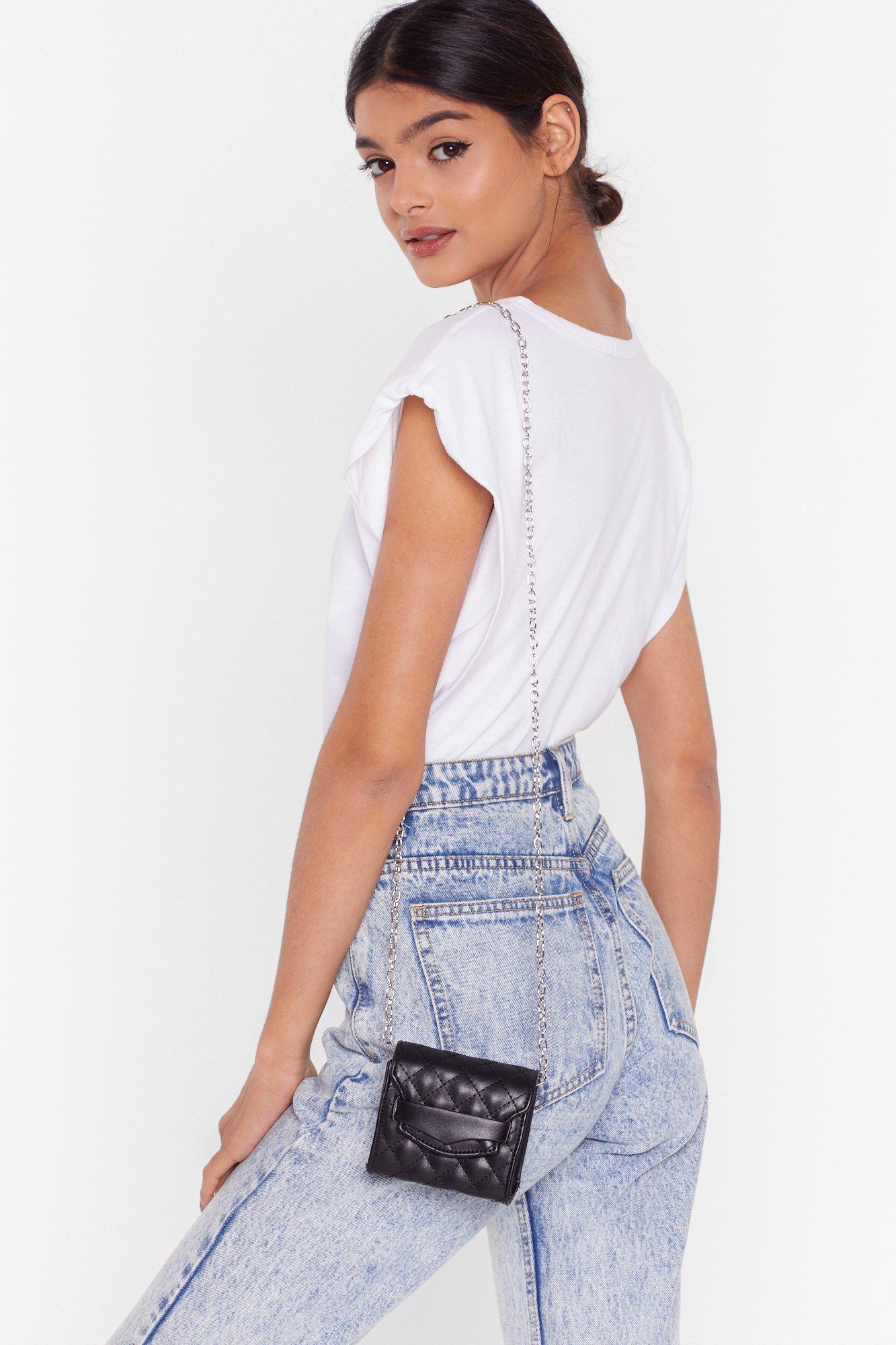 Image of WANT Quilt Callin' Me Mini Crossbody Bag