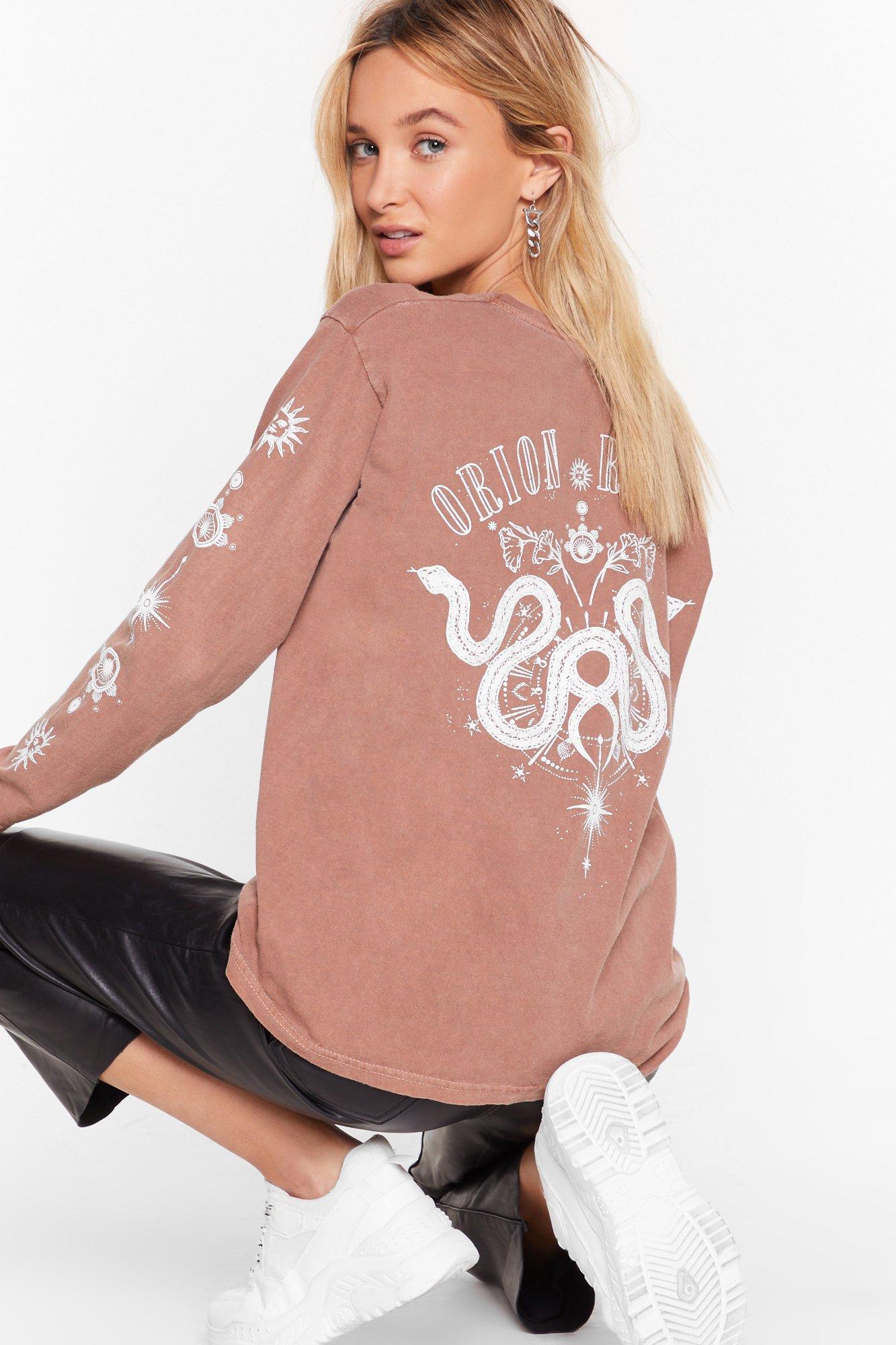 Image of If It's Any Constellation Graphic Sweatshirt