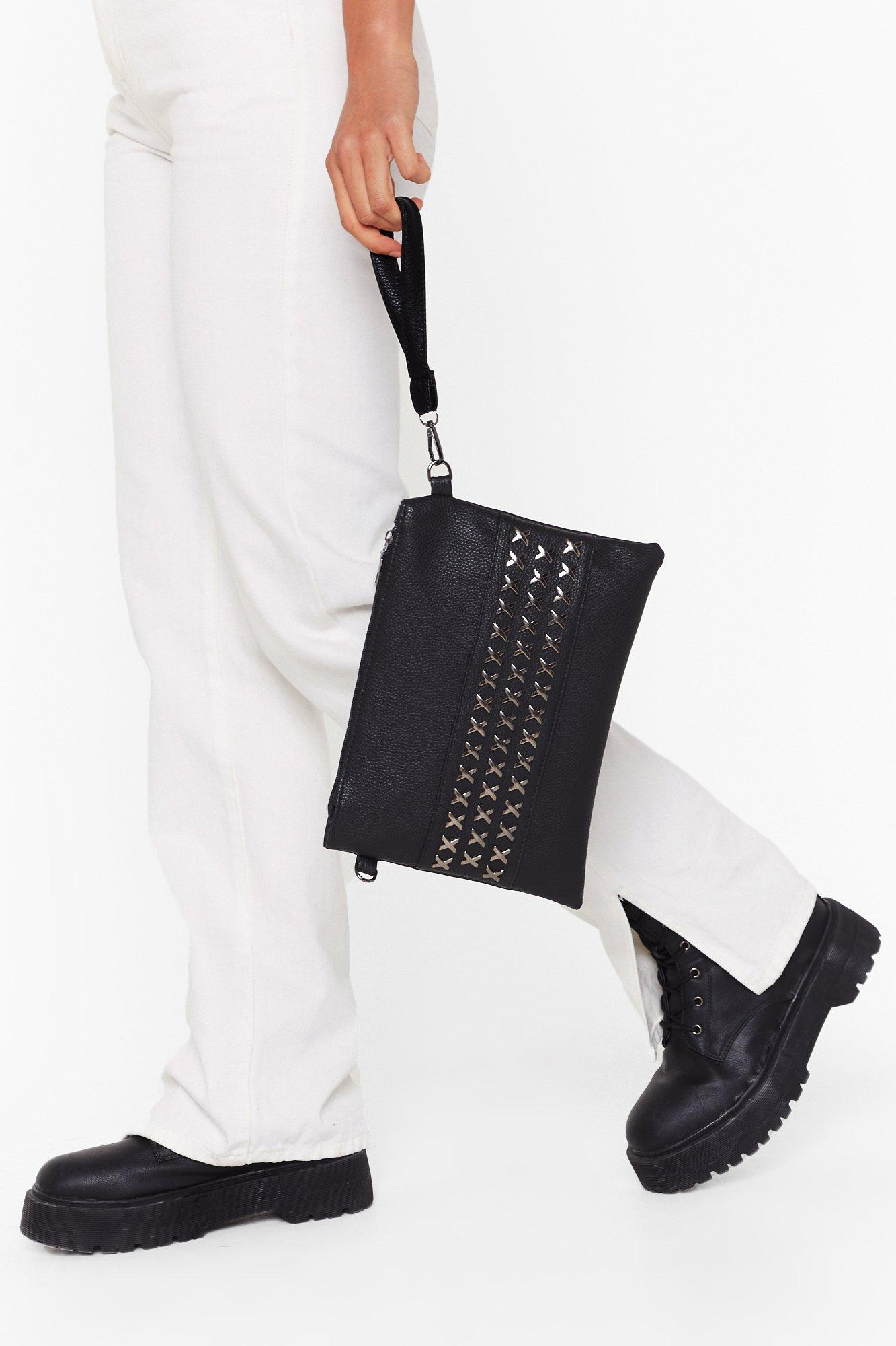 Image of WANT Stud Up to 'Em Crossbody Bag