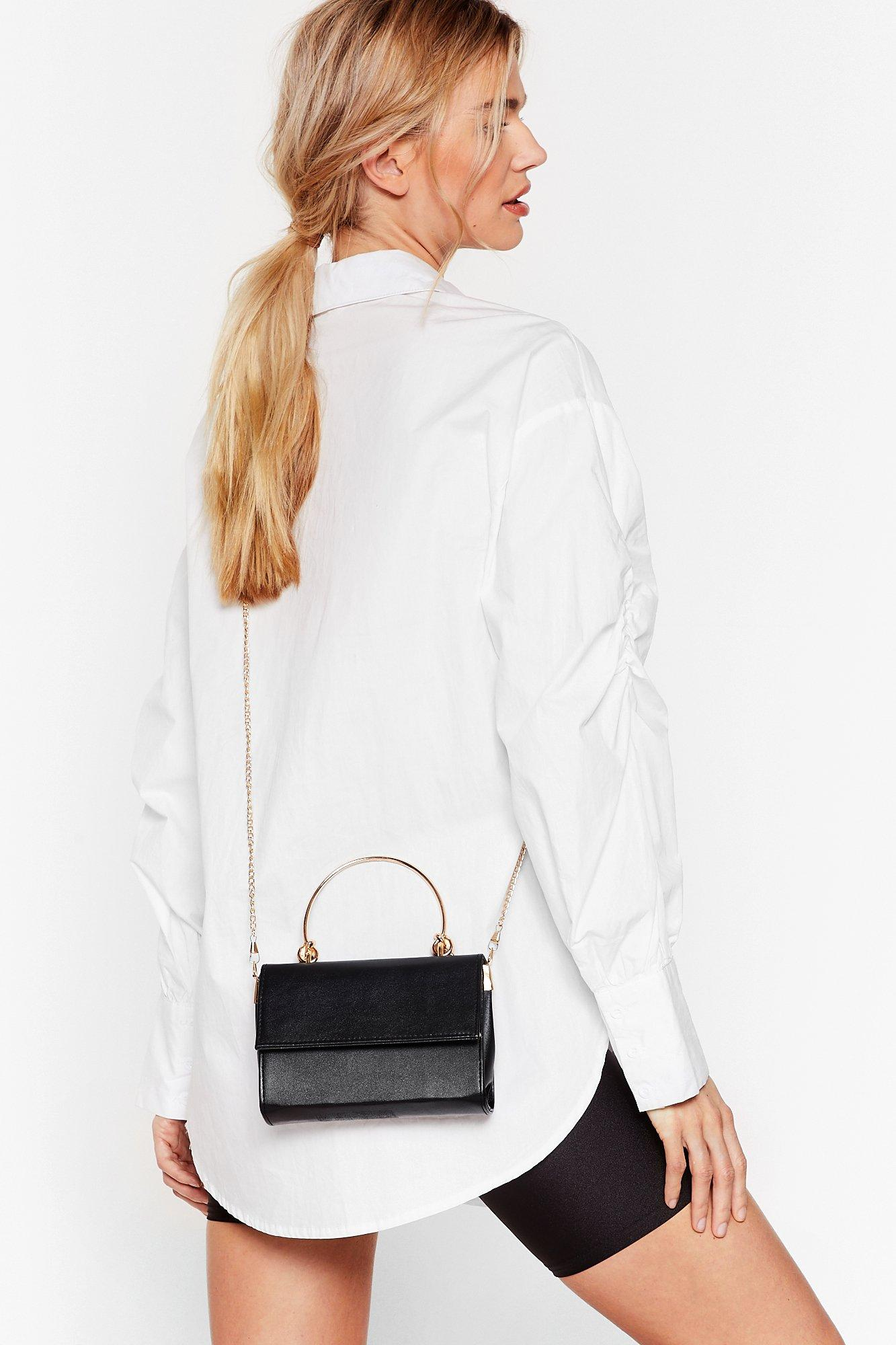 Image of WANT Knot Right Now Faux Leather Bag
