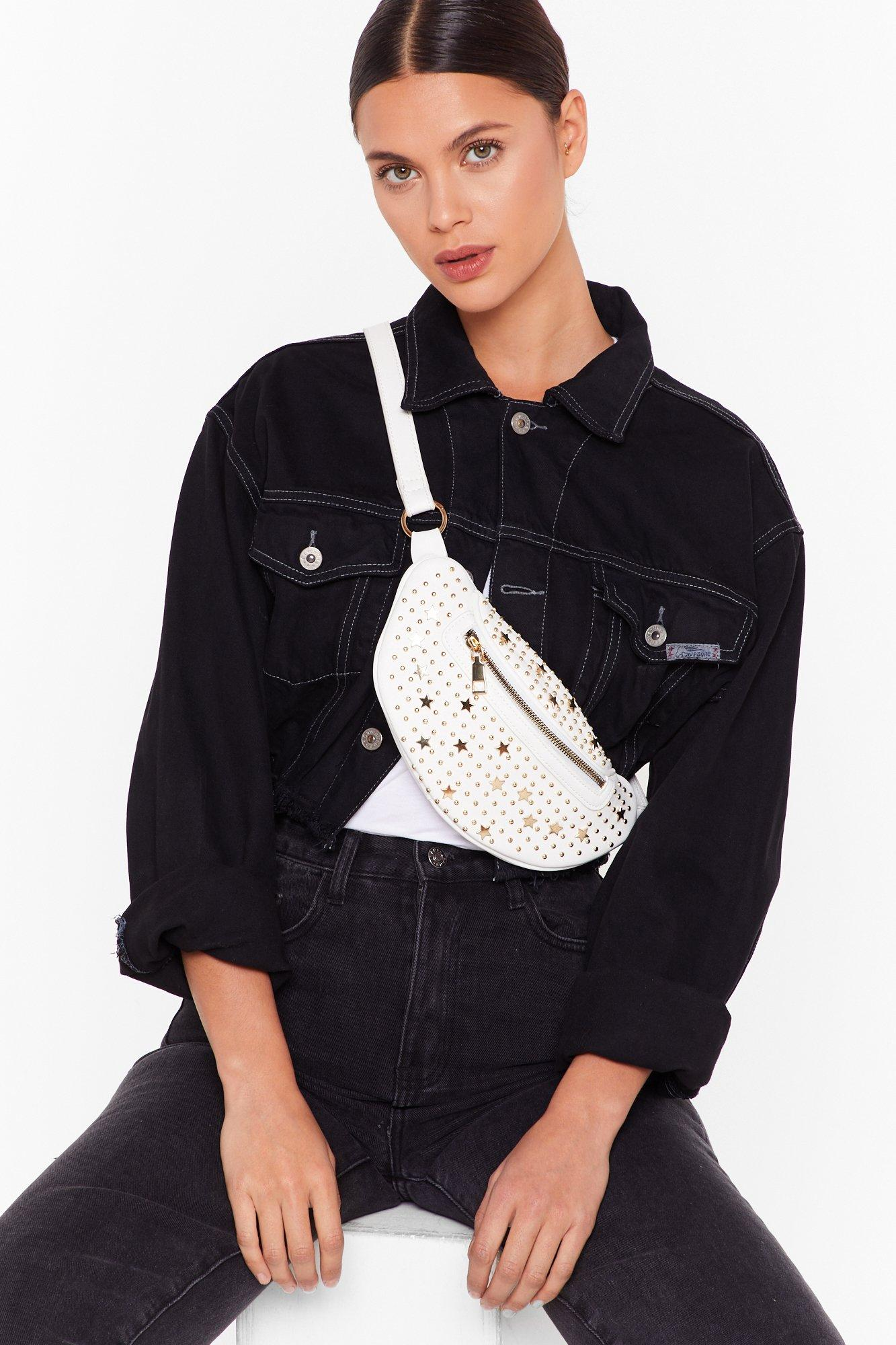 Image of WANT You're Going Star Studded Fanny Pack