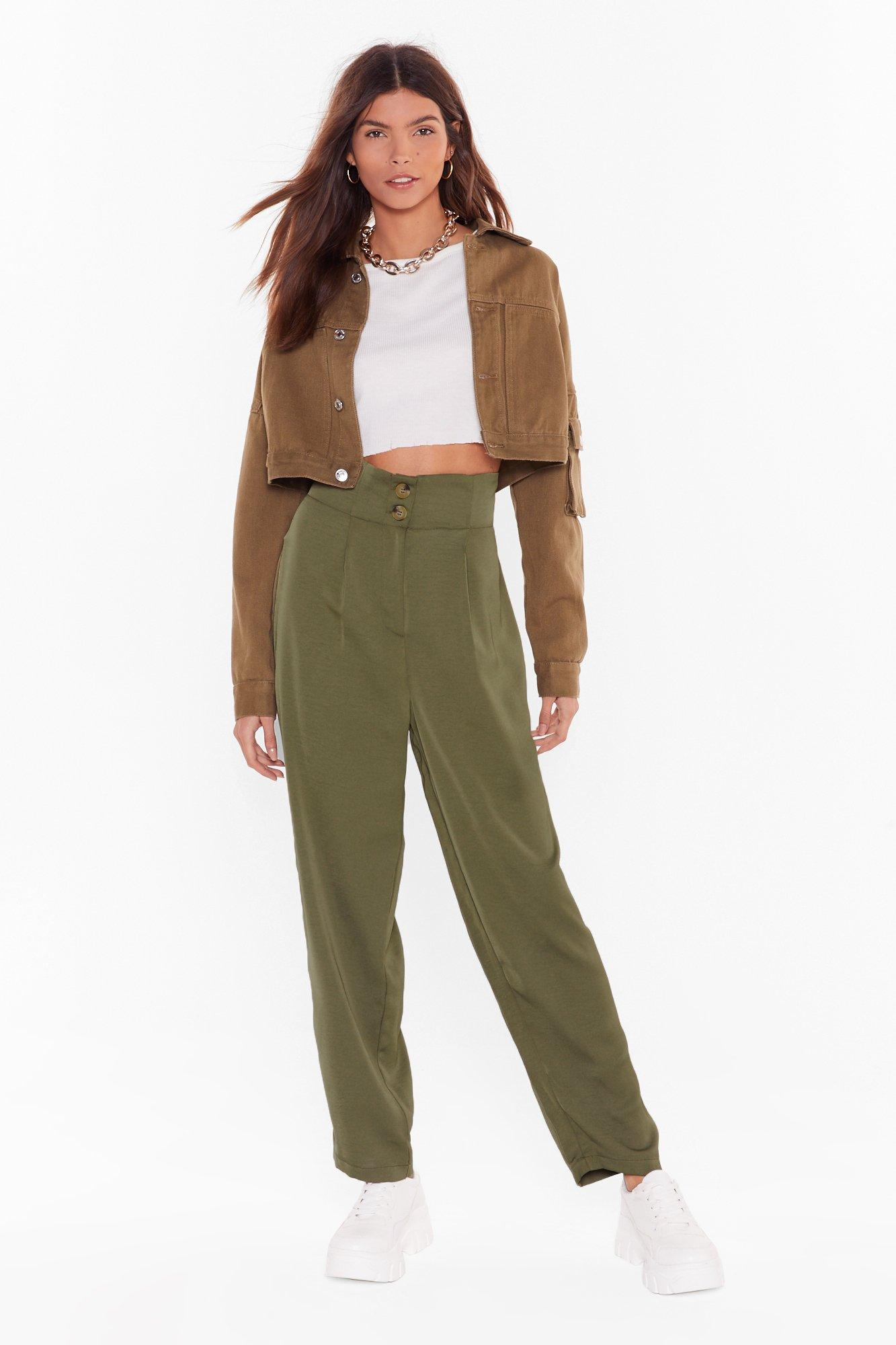 Image of Like It or Not High-Waisted Pants