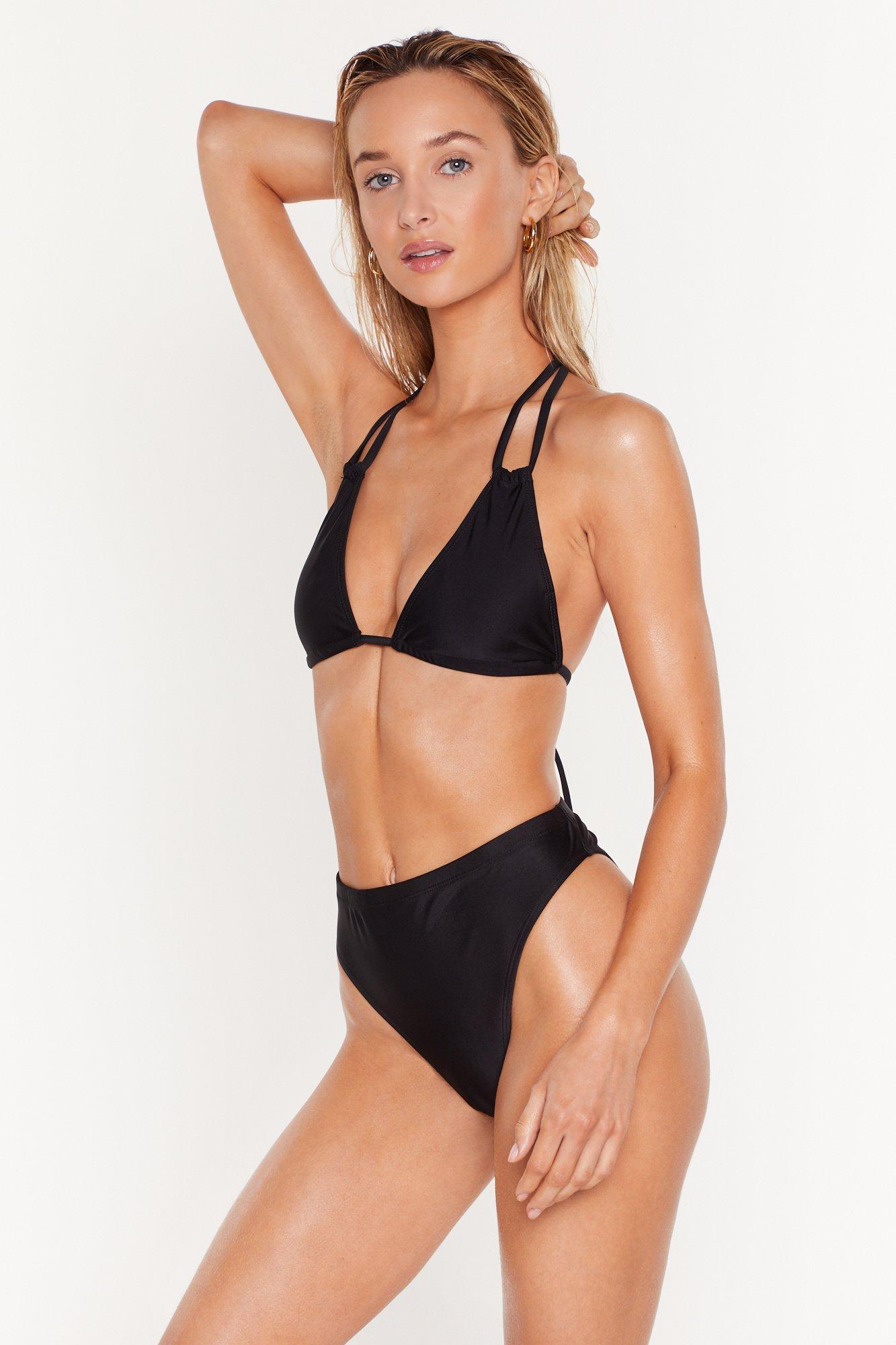 Image of 'Tis the Sea-son Strappy Triangle Bikini Top