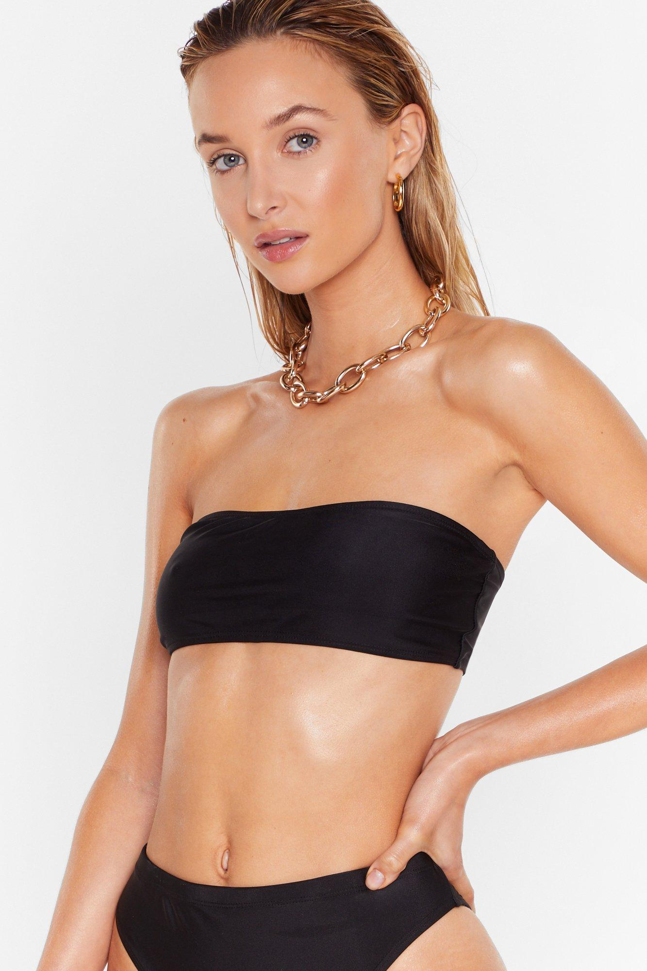 Image of 'Tis the Sea-son Bandeau Bikini Top