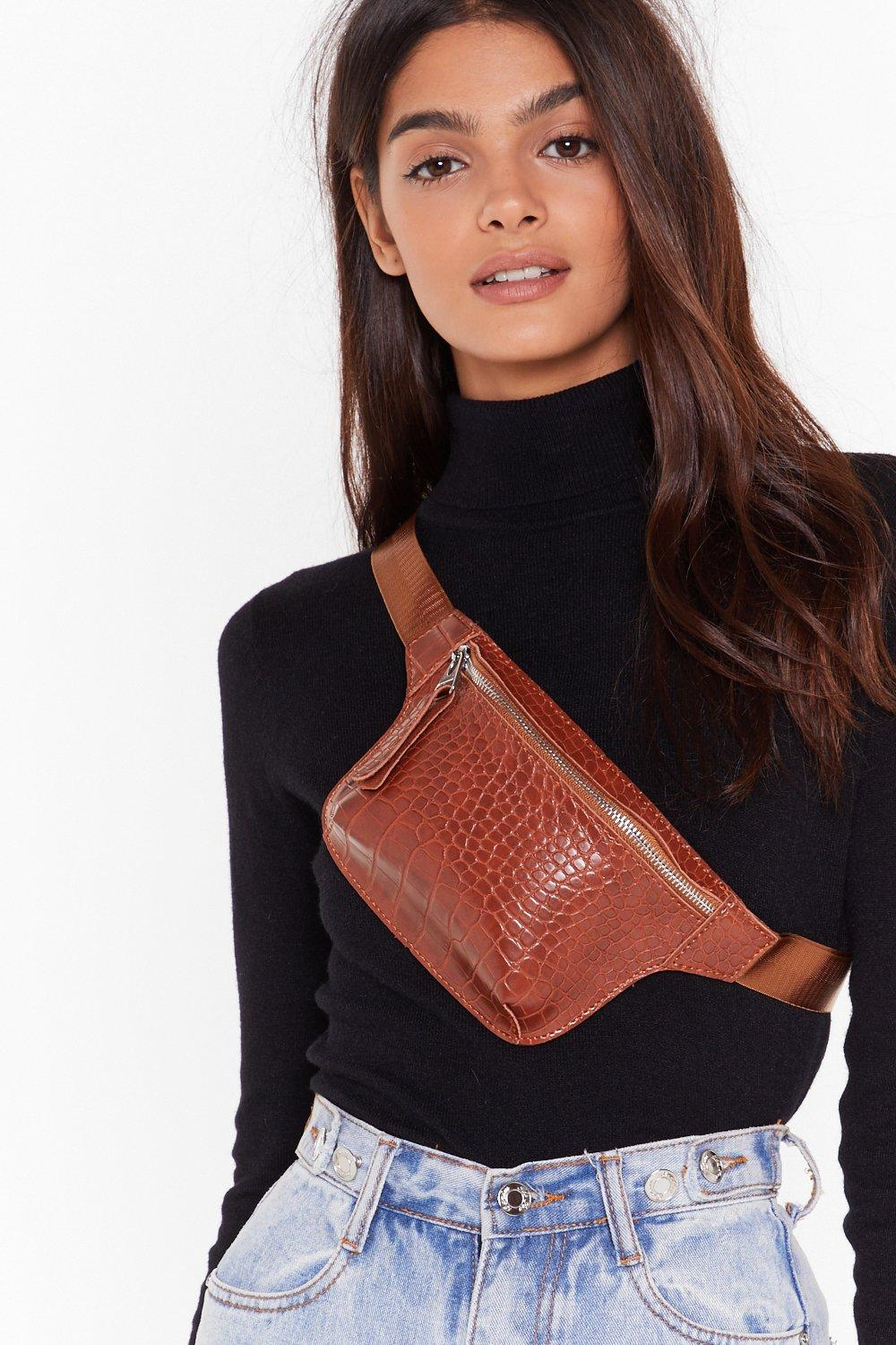 Image of WANT Croc That Body Faux Leather Fanny Pack