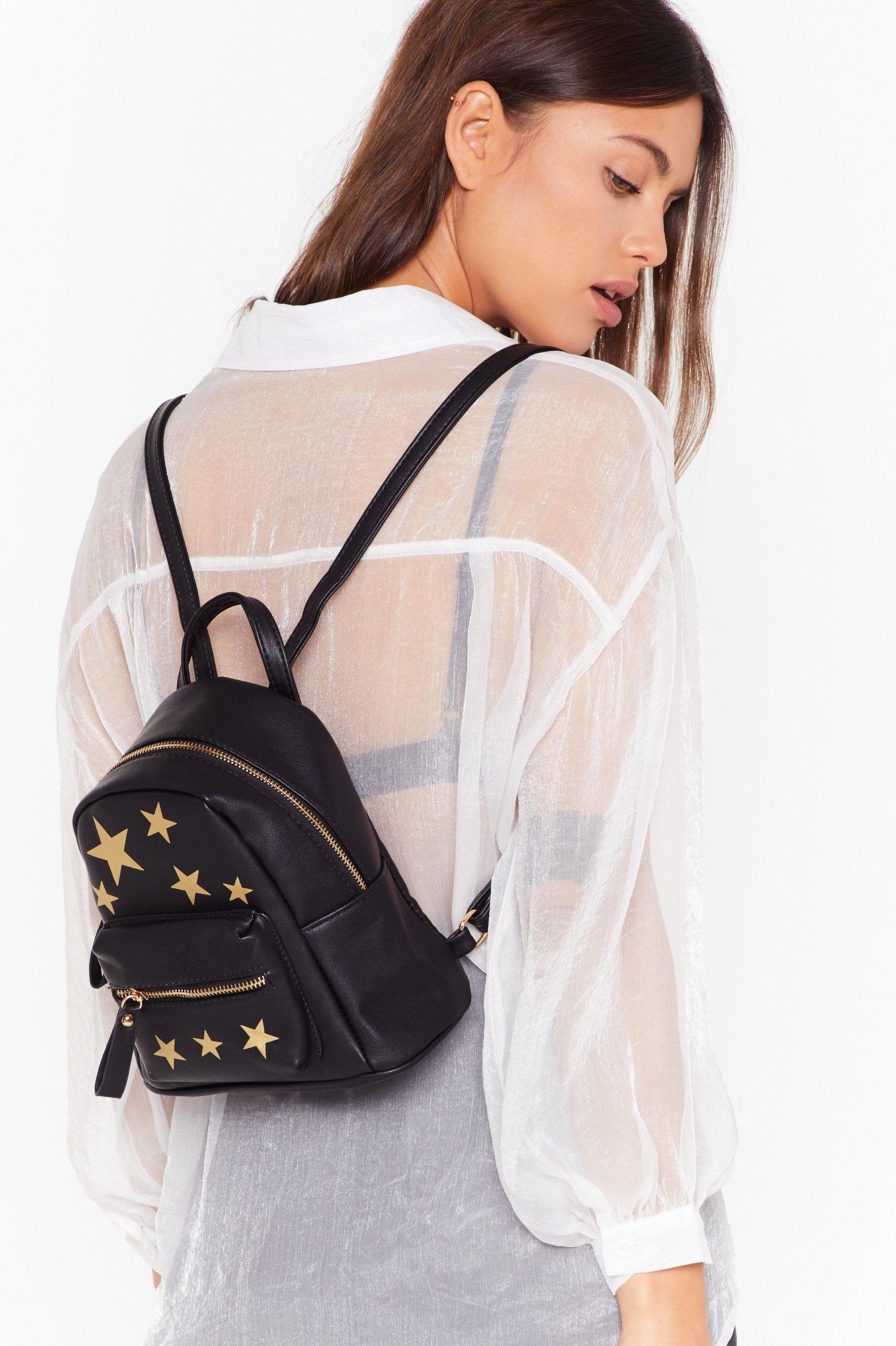 Image of WANT Blazing Star Faux Leather Backpack