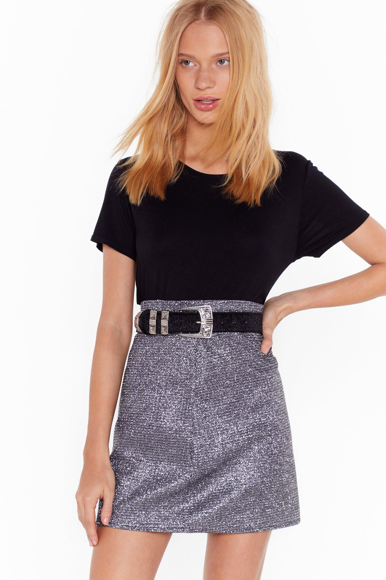 Image of We Wish You the West-ern Faux Pony Hair Belt