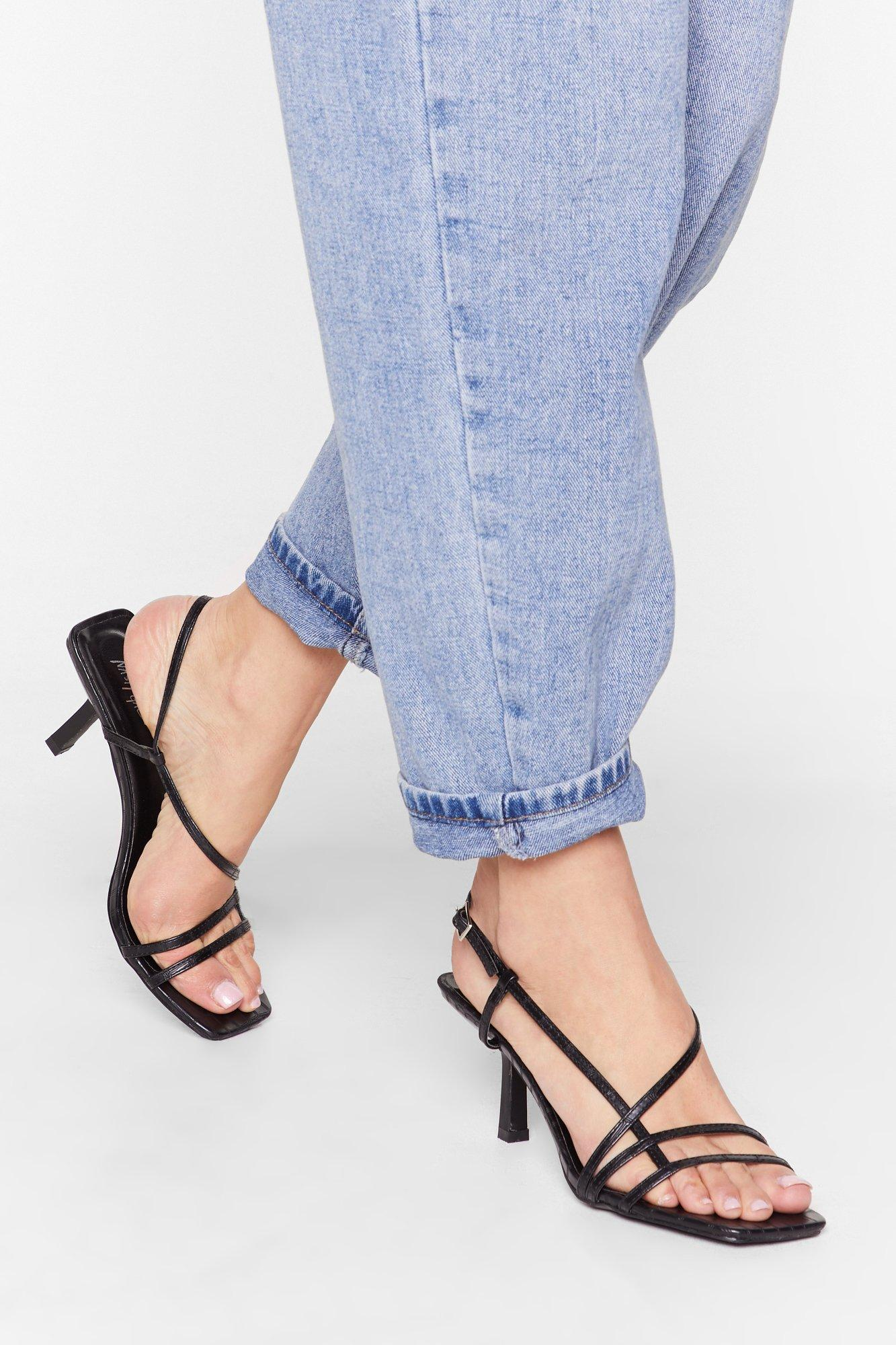 Image of Heel the Music Strappy Sandals